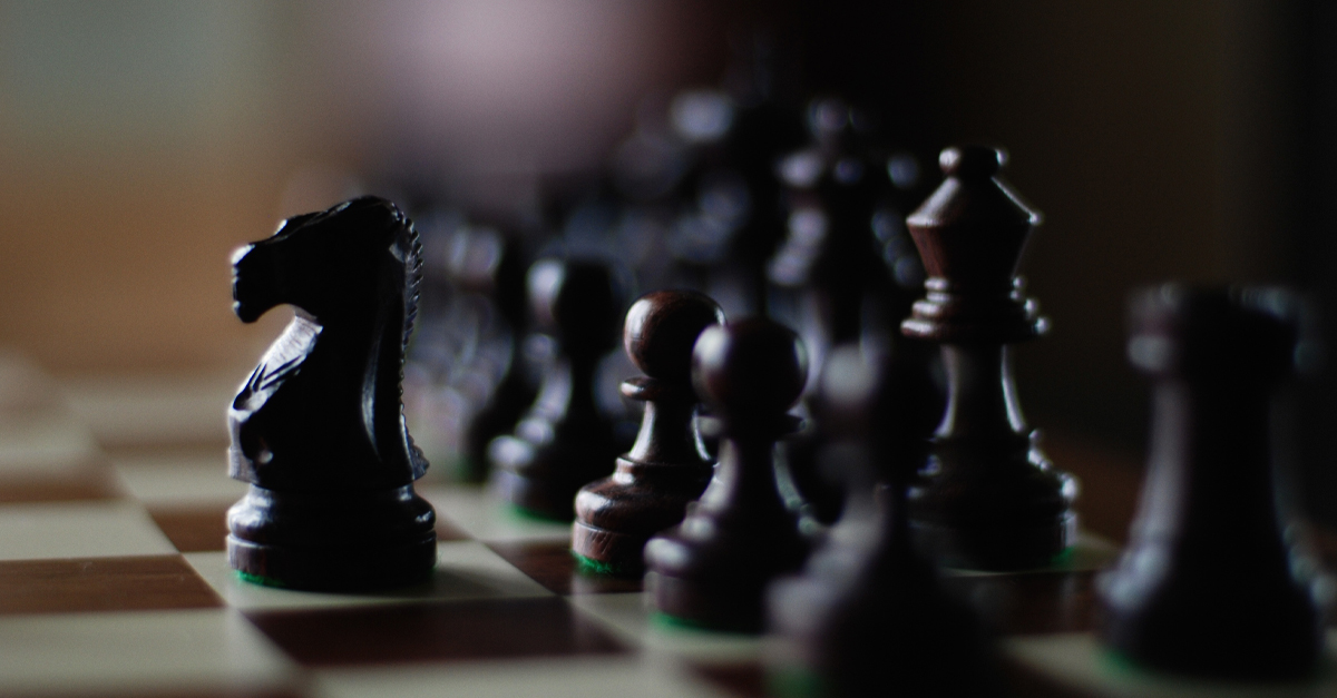 Chess board for professional leaders